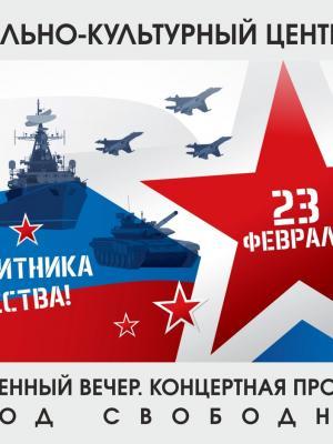 Торжественная программа в честь Дня защитника отечества