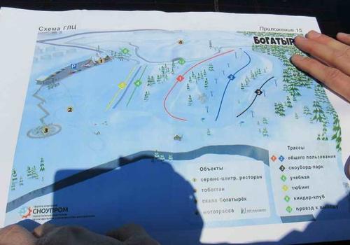 В Каменске откроется секция сноубординга