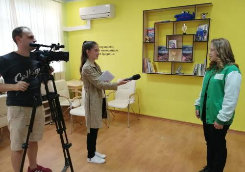 Чем заинтересовали наши волонтеры один из городских телеканалов?!