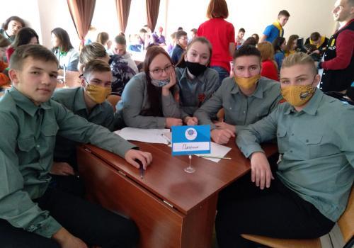 """Члены отряда """"Патриот"""" впервые приняли участие в областном конкурсе трудовых отрядов"""