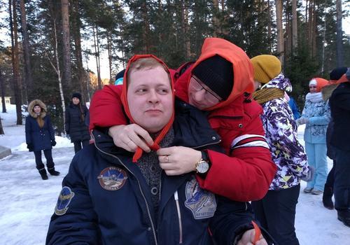 Слет актива работающей молодежи в Березовском