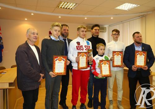 В Каменске-Уральском выбрали лучшего спортсмена осеннего сезона