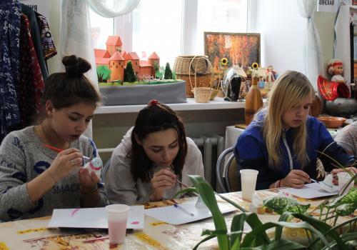 Этномастерская для детей и молодежи готовится к открытию в центре национальных культур, на базе клуба русской культуры «Русь»