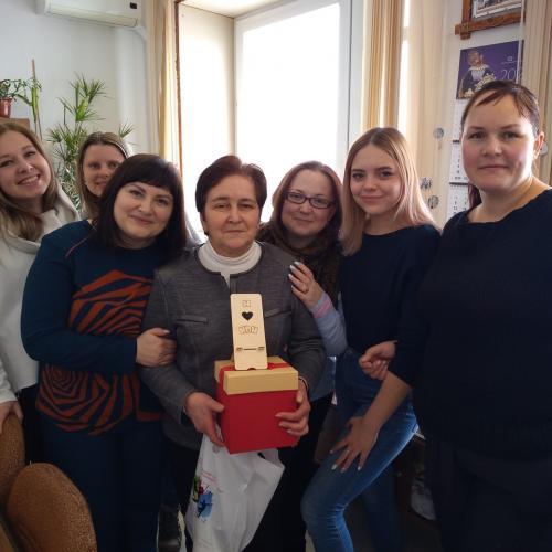 С днем рождения, Елена Дмитриевна!
