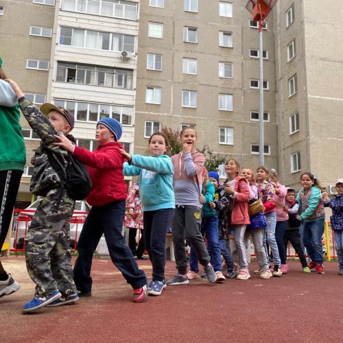 Праздник двора для детей Красногорского района