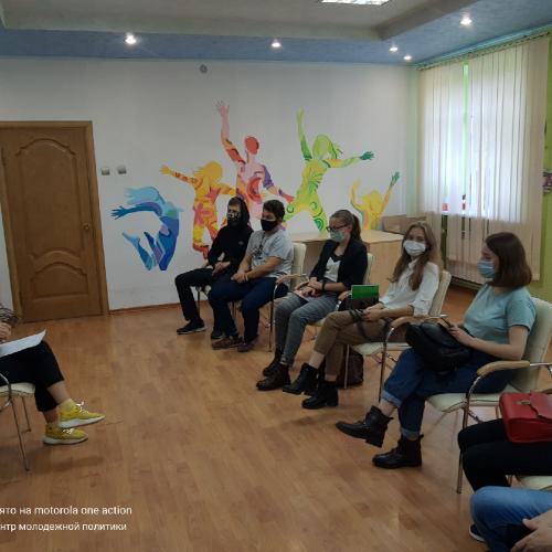 Встреча городского Студенческого совета в новом учебном году