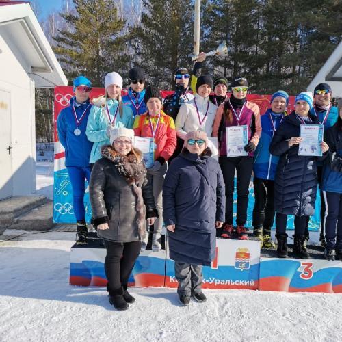 Лыжная эстафета среди работающей молодежи - 23.02.2020