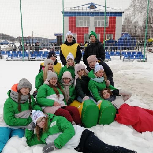 Волонтеры - первые помощники на Всемирном дне снега