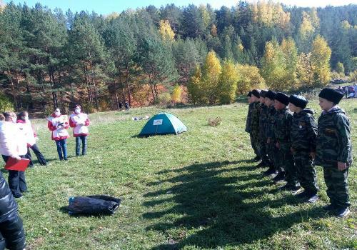 Каменск-Уральские кадеты заняли второе место в игре «Карта странствий»