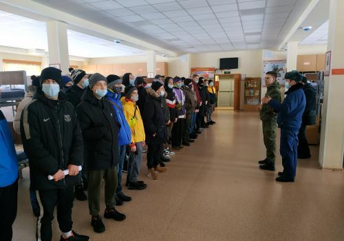 Экскурсия в войсковую часть для молодежи допризывного возраста – интересна? Да! Безусловно!