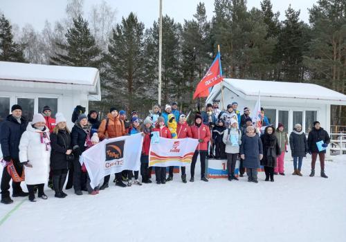 Итоги лыжной эстафеты среди работающей молодежи