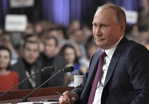 Большая пресс-конференция Владимира Путина-2020