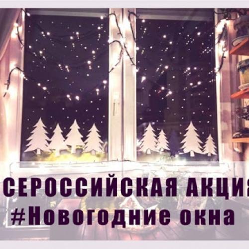 Про акцию «Новогодние окна»